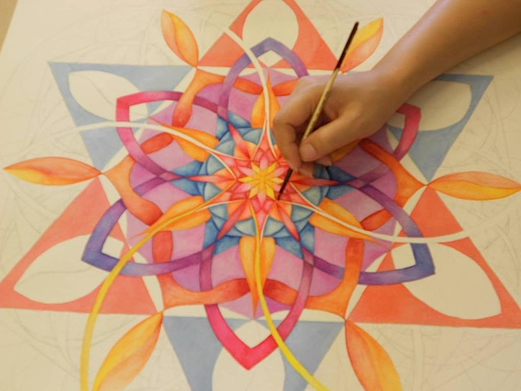 Conosciuto Pittura di Mandala | Mandala WT43