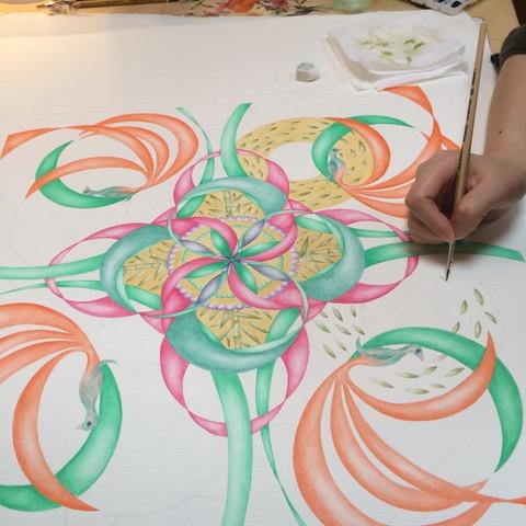 Pittura di Mandala – Corso Base