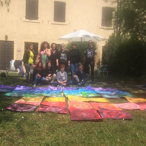 mandala pittura shanti verona corsi online individuali gruppo